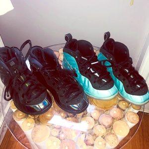 Nike Lil Kids Foamposite Bundle 12.5 &13